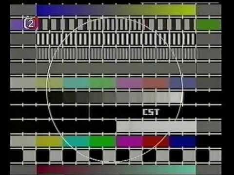 Czechoslovakian TV nightly closedown (with the National Anthem of Czechoslovakia).