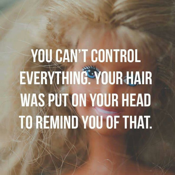 You can't control everything.