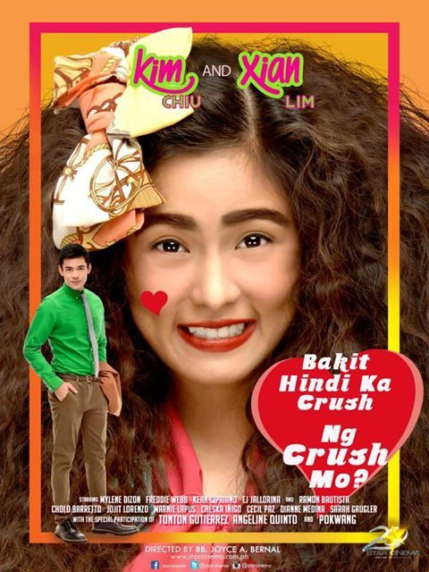 Bakit Hindi Ka Crush ng Crush Mo (2013) Movie stars Kim Chiu and Xian Lim Pinoy movie / Tagalog movie