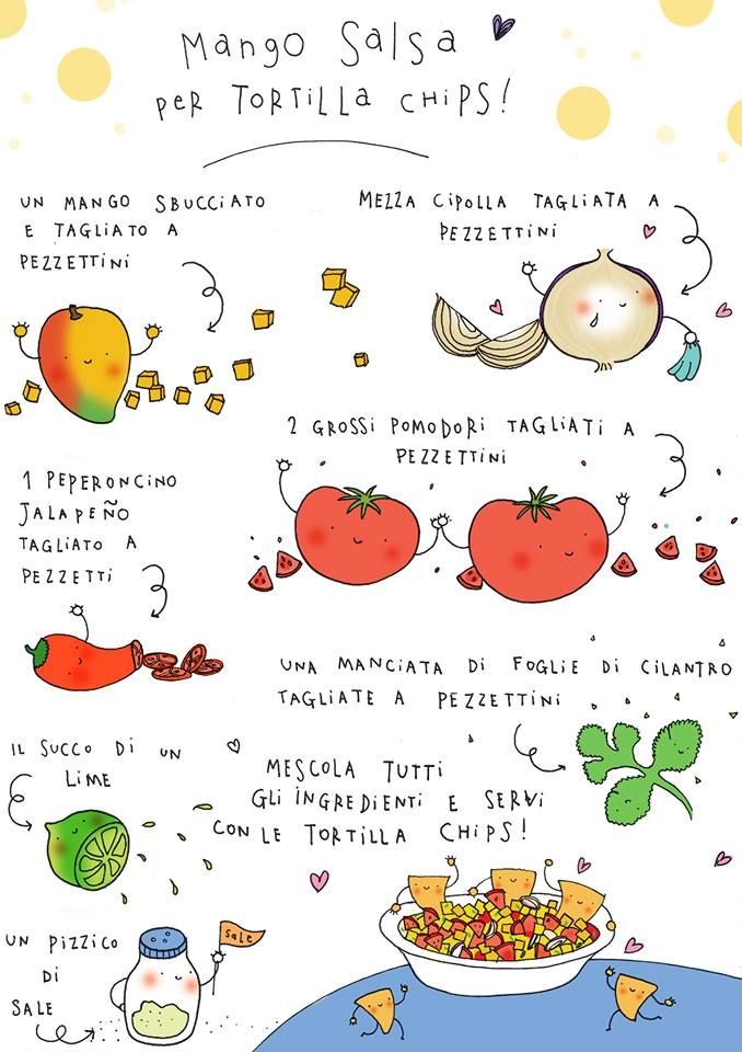Mango Salsa Per Tortilla Chips di Enrica Trevisan