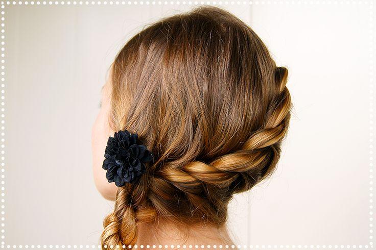 #memobaby Une coiffure de princesse en toute simplicité ! La torsade (vidéo coiffure). | Poudre Rosee