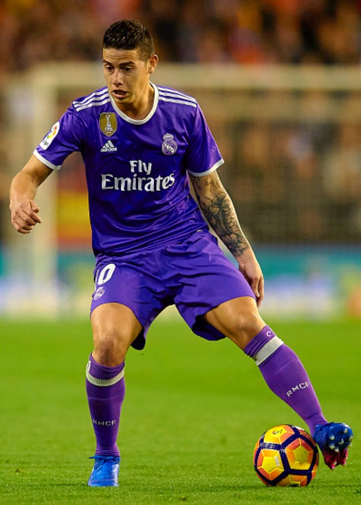 James Rodriguez in action. February 2017