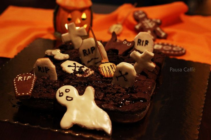 Brownies - cimitero stregato Halloween
