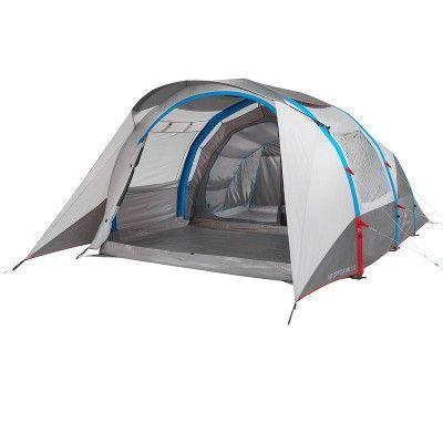 All Tents Camping - Air Seconds Family 5.2 XL Inflatable Tent - 5 Man Quechua - Tents