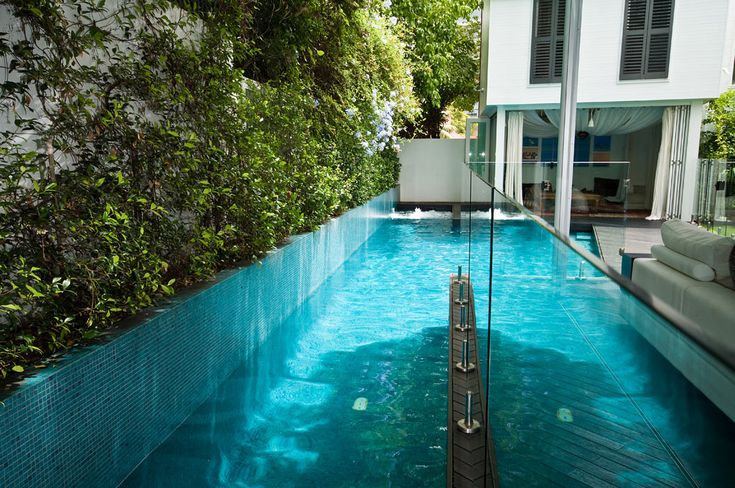 Building A Lap Pool Fotouhi Residence Inspiration Pinterest