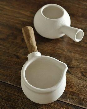 ミルクパン 白  - 器と暮らしの道具 OLIOLI