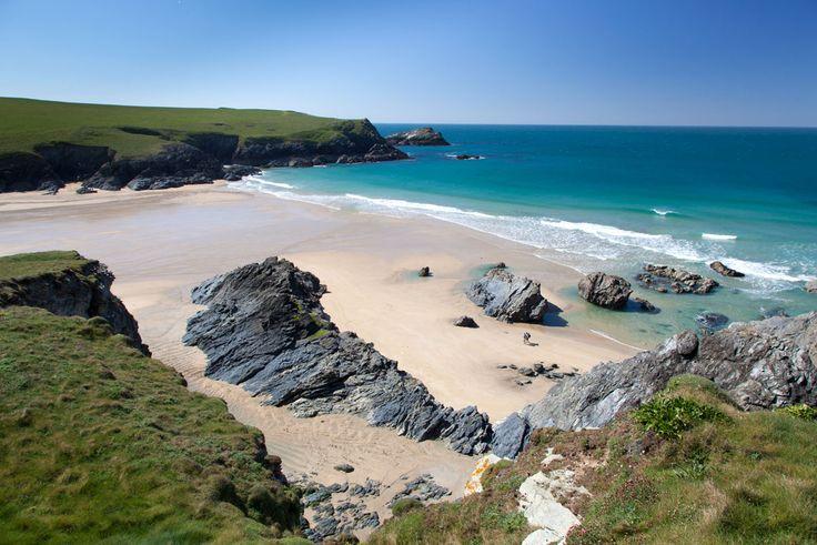 Porth Joke beach - low tide