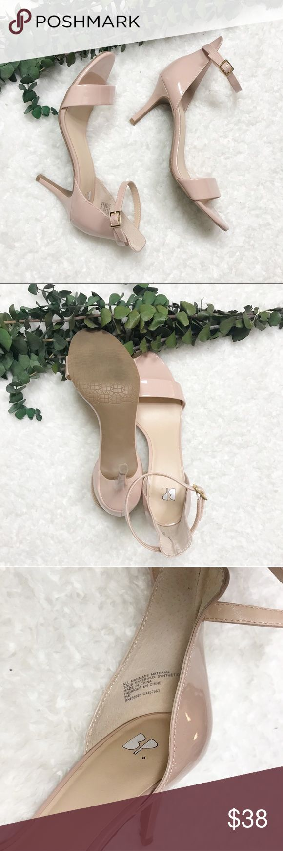 Bp Luminate Faux Patent Sandals in Pink (blush patent)   Lyst