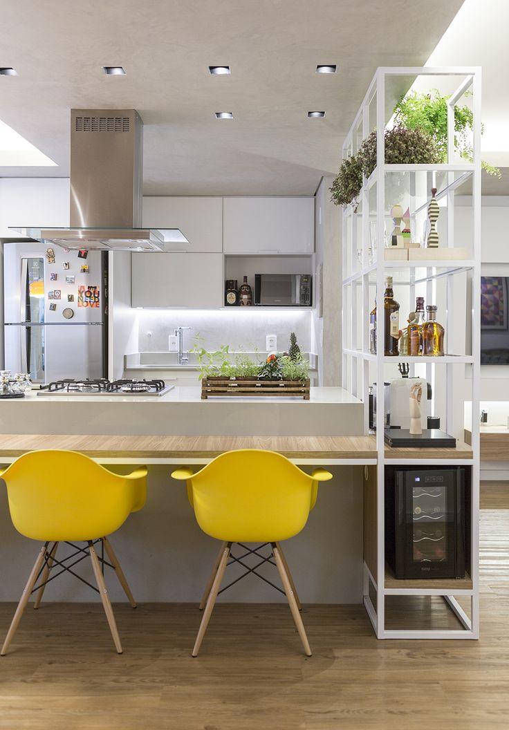 Apartamento de 70 m², Brasília - Arquiteta Clarice Semerene