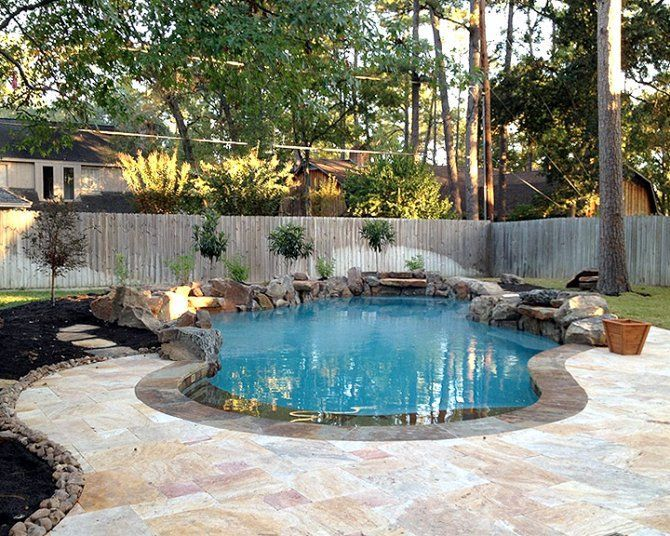 17 best ideas about concrete pool on pinterest swiming for Pool deck landscaping