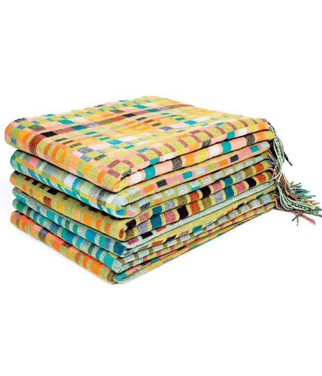 These cashmere-and-merino wool Love Blankets designed by Holly Berry @ Dwell.com