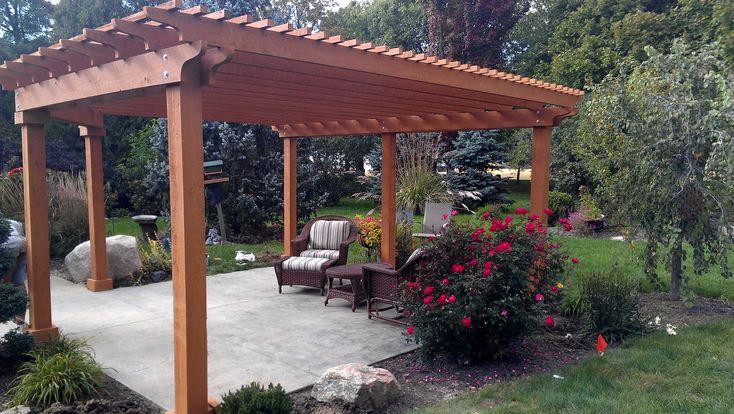 Backyard Deck Kits : Diy backyard playground  Be the first to review ?Pergola DIY Kits