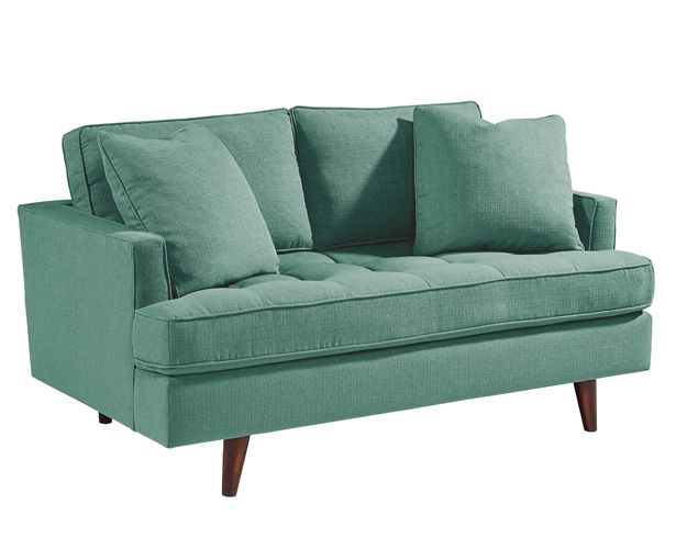 Magnolia Home Furniture Linen Upholstered  Piece Sectional