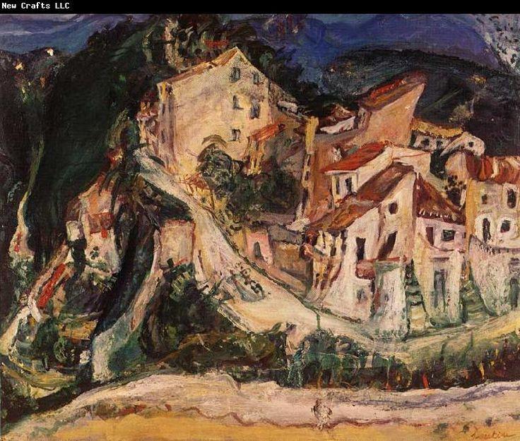 soutine paintings | Edouard Vuillard Museum: Landscape of Cagnes Chaim Soutine