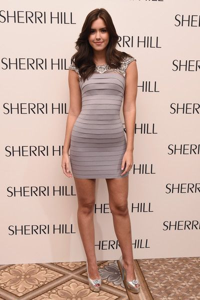 Paulina Vega: Sherri Hill - Backstage - Spring 2016 New York Fashion Week