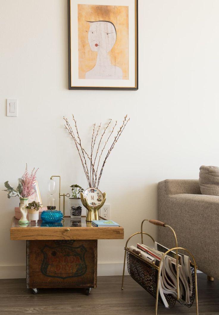 Tipps zur Raummaximierung in einem LA Rental Loft | Wohnung Therapie-Holzkiste Top …  – Home on 25th