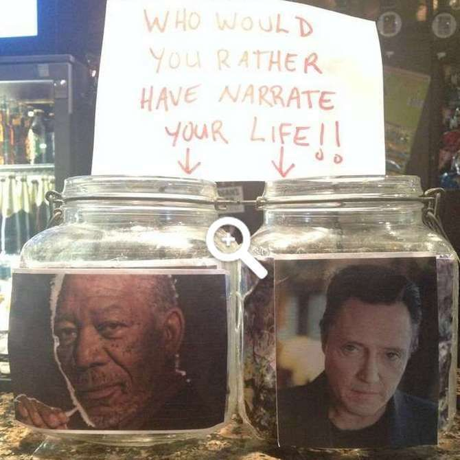 Funny tip jars are a great way to squeeze every last cent out of people at any place of business you work that underpays you as much as they overcharge customers. When creativity is pretty much at a standstill at any job that requires tip jars, creative ones often not only provide workers with an o...