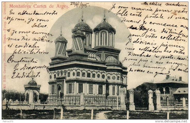 Curtea de Arges - Manastirea - 1905