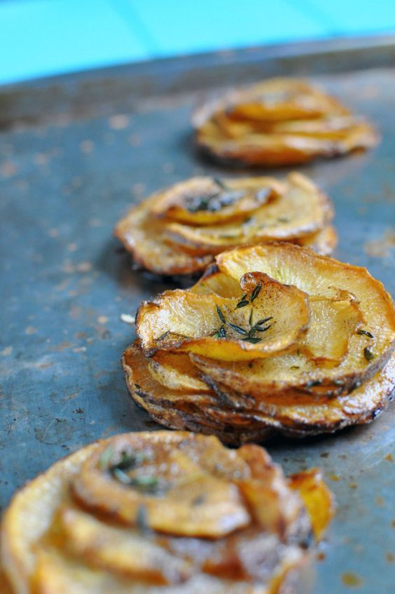Rutabaga Pommes Anna [Recipe] - Low Carb Potato Substitute