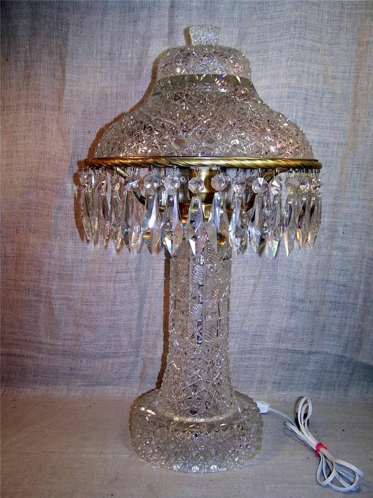 17 Best Images About Crystal Lamps On Pinterest Thistles