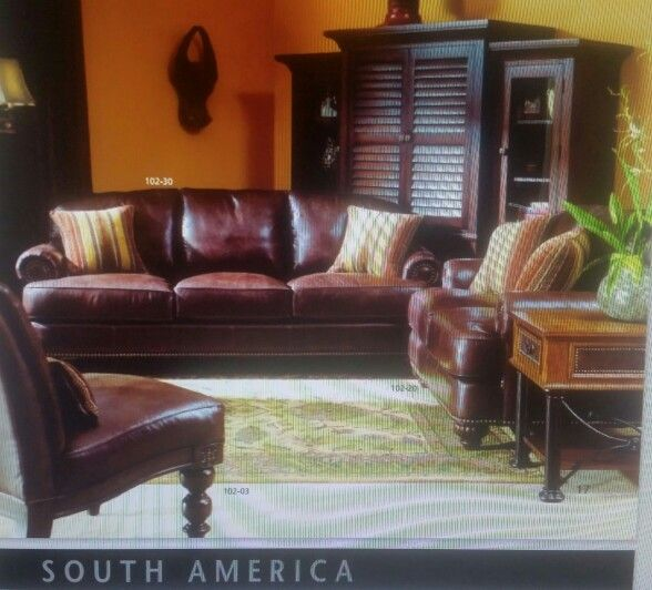 Lane Furniture National Geographic Collection South