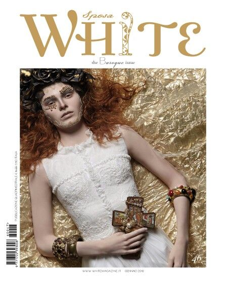 """White Sposa """"the Baroque issue """" january 2016"""