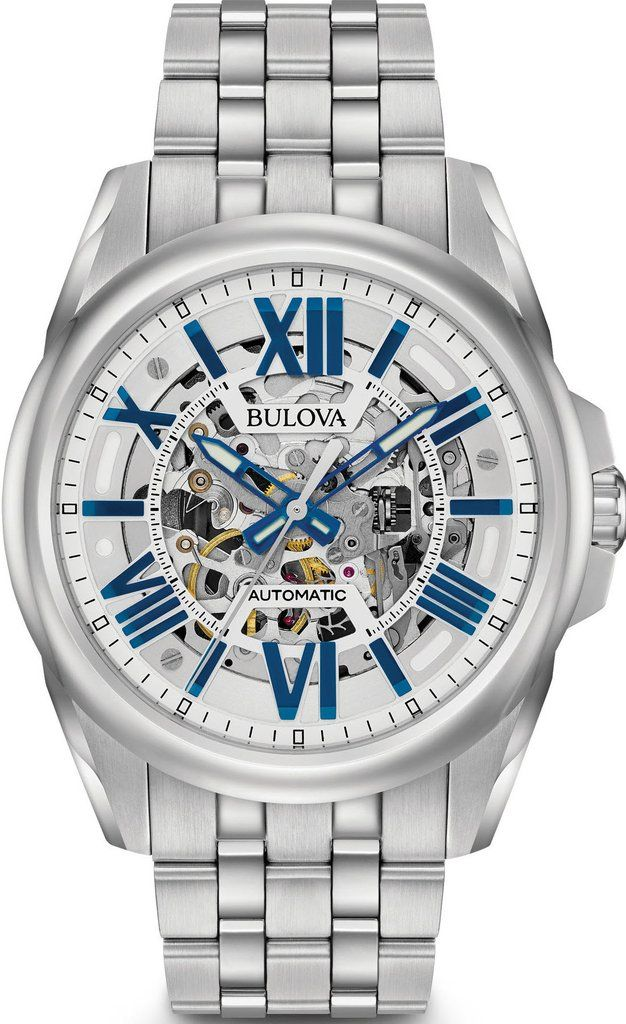 @bulova Automatic Mens #add-content #bezel-fixed #bracelet-strap-steel #brand-bulova #case-depth-12mm #case-material-steel #case-width-43mm #delivery-timescale-1-2-weeks #dial-colour-silver #gender-mens #luxury #movement-automatic #new-product-yes #official-stockist-for-bulova-watches #packaging-bulova-watch-packaging #style-dress #subcat-automatic #supplier-model-no-96a187 #warranty-bulova-official-3-year-guarantee #water-resistant-100m