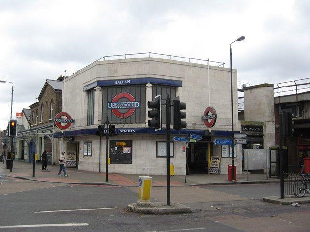 Balham Railway Station (BAL) in Balham, Greater London