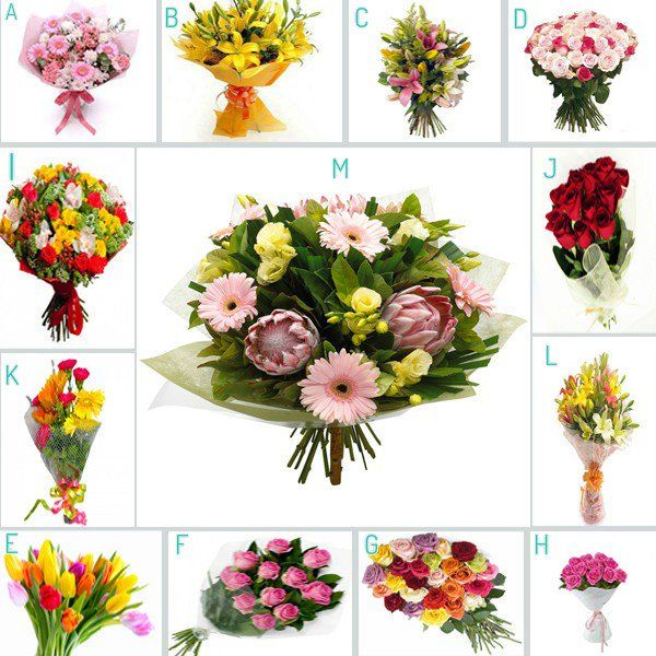 When #love is in the air, which of these #flowers #bouquet would you send to show your #romantic side?