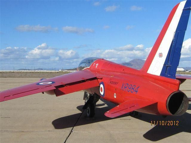 1966 BAe Folland Gnat - Former Royal Air Force Supersonic Gnat - Beautiful Plane! for sale in CA United States => http://www.airplanemart.com/aircraft-for-sale/Military-Warbird/1966-BAe-Folland-Gnat/7676/
