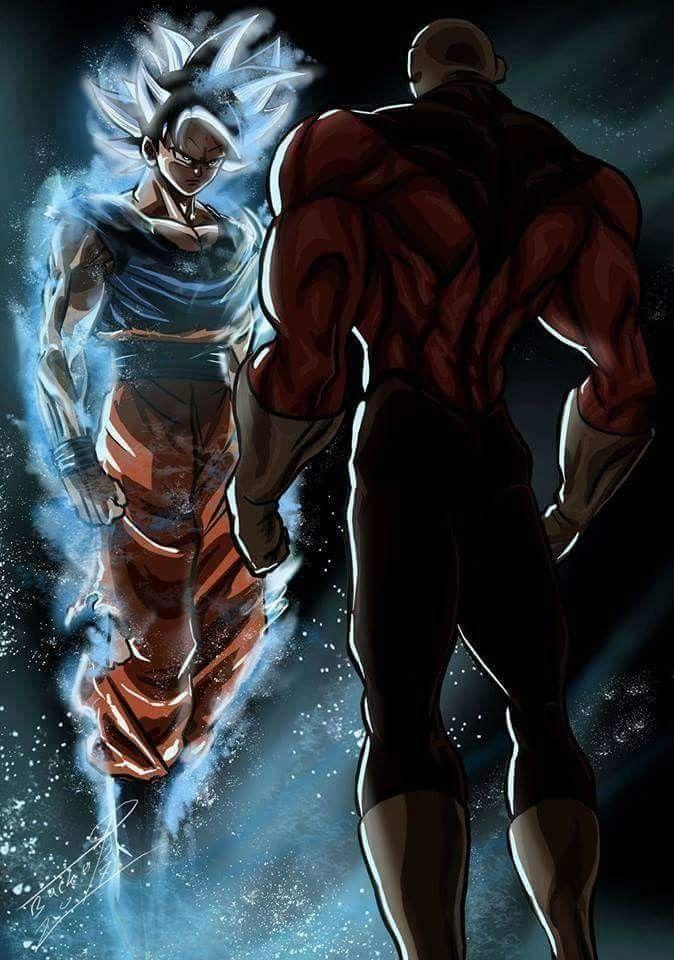 Goku Ultra Instinct Vs Jiren Dragon Ball Super Goku Dragon Ball Super Manga Dragon Ball Goku