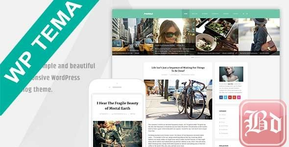Mango – Clean Responsive WordPress Blog Theme