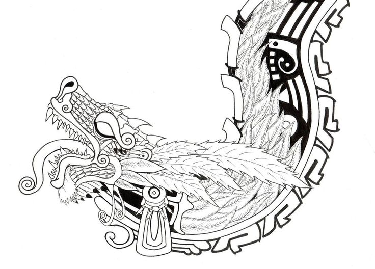 This a dragon Is a work i've been working on for about three weeks now, it has alot of detail, and I know i didn't do the calander in the center quite right but i'm still proud of it...