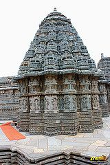 Northern Shikhara (Peak or Tower) of Keshava Temple, Somanathapura, Mysore district, One of the finest of Hoysala style architectures, near #Mysore, #Karnataka, #India   #Somanathapura #Somnathpur #Somanathpur #Somanathapur #Architecture #incredibleindia #Travels #Temples #templesofindia #Trayaan #Historical #Monuments #MonumentsOfIndia #Hoysala #HoysalaTemples #HoysalaArchitecture