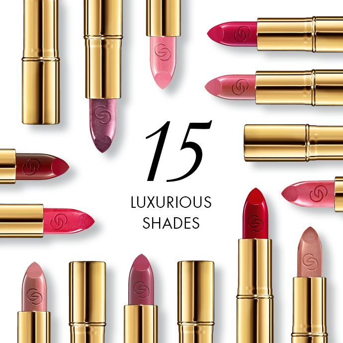 15 luxurious shades = 15 ways to look utterly sophisticated. Introducing the new Giordani Gold Iconic Lipstick, now with SPF 15 to deliver beautiful protection plus intense, rich colour.