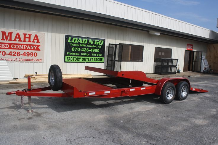 "2016 - 18+4 Tilt Trailer: 82"" wide x 22' deck. 2-3500 lb E-Z lube axles. Includes two brake axles. All axles come with a 3 year warranty. 5"" main frame and 4"" channel. Wrap Tongue. New ST205/75 6Ply C Range Tires and wheels. 8k Coupler / with setback square drop leg jack. ACQ treated 2x8 lumber. Reinforced fender support. 4 recessed swivel d-rings. LED lights. DOT Tape.  Price: $2800"