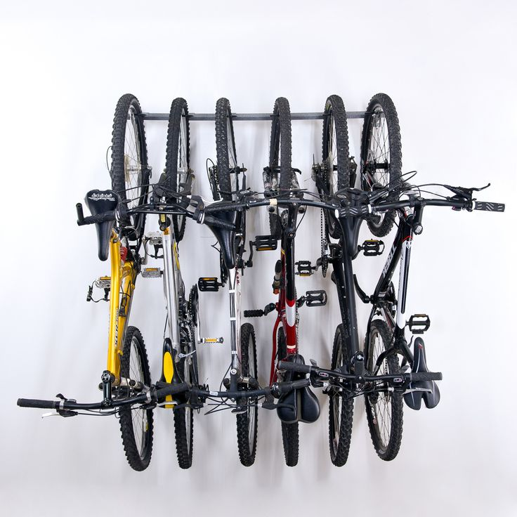6 Bike Storage Wall Mounted Bike Rack Bike Storage
