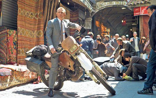 James Bond: secrets from the set of Skyfall - Telegraph