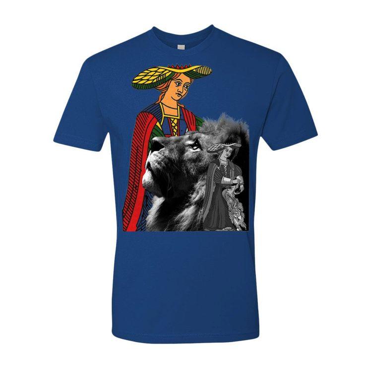 T- shirt uomo serie - The Tarot - La Forza       Alori1961