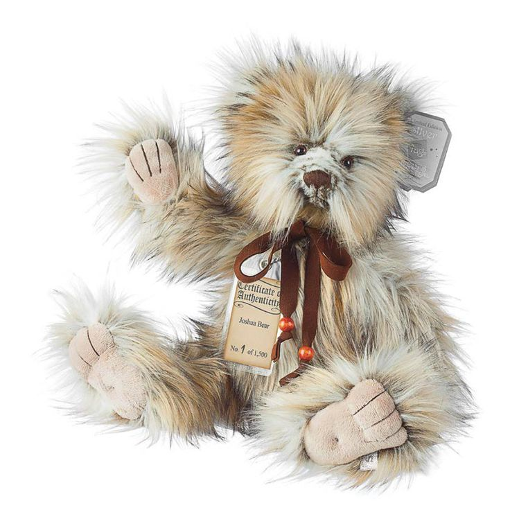 Suki Teddy Bear Joshua - Silver Tag Bear - Collection 4