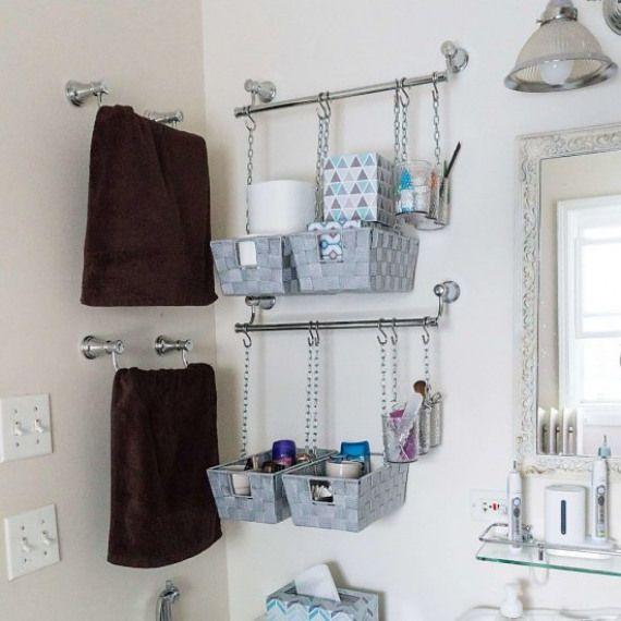 Diy Bathroom Storage Baskets