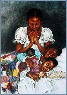 There is power in a Mother's prayer...