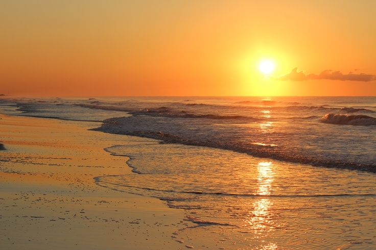 Crystal Beach Texas Sunrise