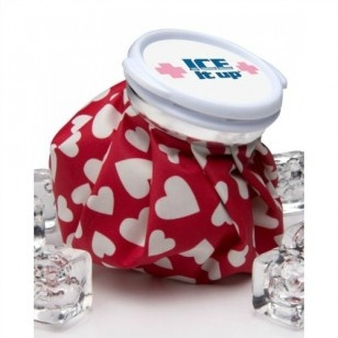 Vintage Ice Bag - Red Hearts $24.95 NZD