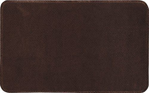 Home Dynamix 20-Inch-by-32-Inch Non Slip Anti-Fatigue Memory Foam Mat, Brown