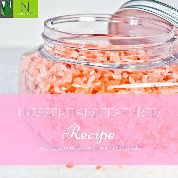 Want a deep salt bath for an all-over body cleanse? This luxurious scented pink Himalayan bath salt leaves you feeling fresh with healthier-looking skin.