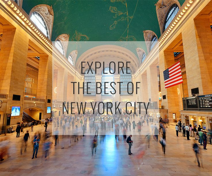 In the City that never sleeps, there's something extraordinary for everyone.