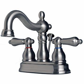 Builders Shoppe 2026 Classic Two Handle Centerset Lavatory Faucet With Pop Up Drain Finish Products In 2019 Lavatory Faucet Bathroom Faucets Faucet