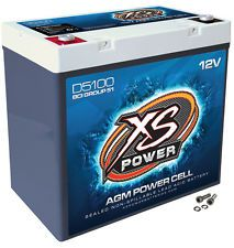 XS Power D5100 12 Volt AGM 3100 Amp Sealed Car Audio Battery/Power Cell+Terminal