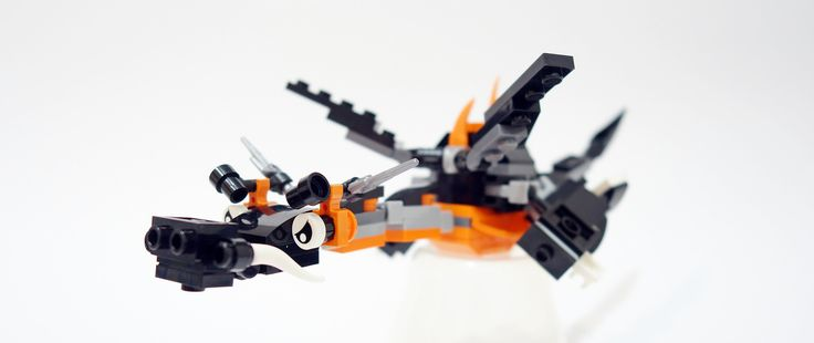 Sparky the ninjago dragon! | Wings are swapped during flight… | Flickr